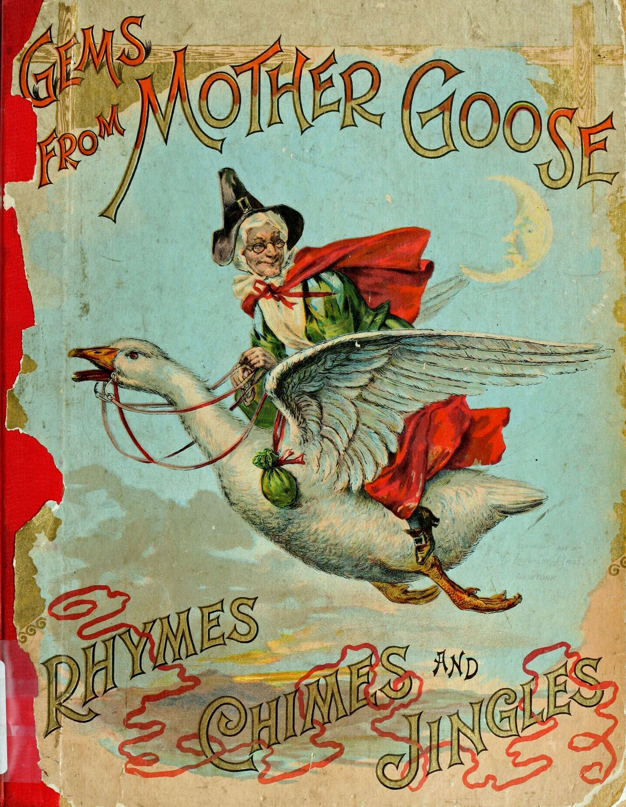 Book Cover With Illustration ~ May st happy day mother goose