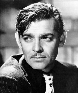 Clark Gable Close Up 252x300 February 1: Working Naked Day, Serpent Day, Baked Alaska Day
