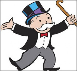 monopoly man 13539 300x276 March 7, 2012: Discover What Your Name Means, Cereal Day, Crown Roast Of Pork Day