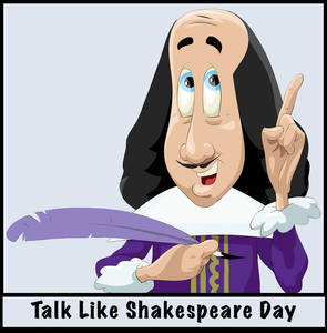 April 23, 2012: Talk Like Shakespeare Day, Take a Chance Day, Picnic Day