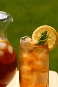 bigstockphoto glass of iced tea with a pitch 1620479 200x300 Iced Tea Day, Herb and Spice Day