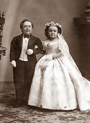 tom thumb and wife c1863