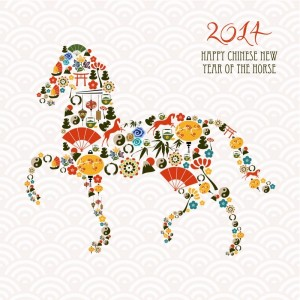 chinese year horse 300x300 Chinese New Year, Backward Day, Art Day, Brandy Alexander Day